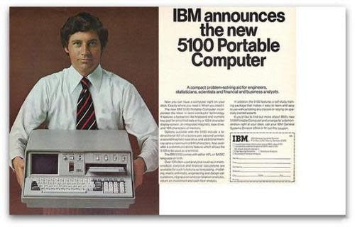 Ad for IBM 5100