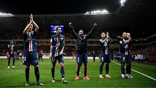 Saint-Etienne stand between PSG and a place in the semi-finals of the Coupe de la Ligue, while Lyon and Lille also learned their fate.