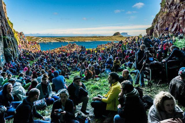 """<p>The annual festival is held in Norland country, Norway which in itself is a trek. You then have to take a ferry to Husoya where the festival is based. On the island the sun shines for 23 hours so good luck getting any sleep and we all know sleep deprivation isn't fun. <i><a href=""""http://www.attendly.com"""" rel=""""nofollow noopener"""" target=""""_blank"""" data-ylk=""""slk:[Photo: Attendly]"""" class=""""link rapid-noclick-resp"""">[Photo: Attendly]</a></i></p>"""