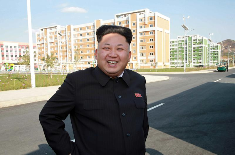 North Korean leader Kim Jong-Un shown in an undated picture released by official Korean Central News Agency on October 14, 2014 (AFP Photo/)