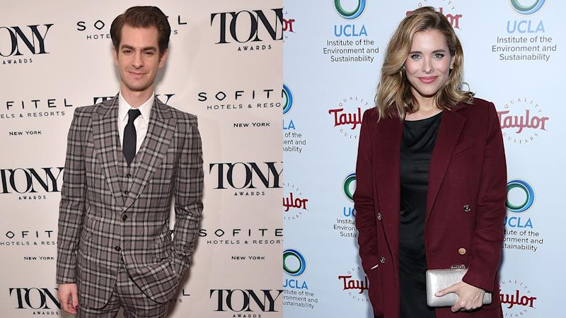 Andrew Garfield Shows PDA With 'Jessica Jones' Star Susie Abromeit