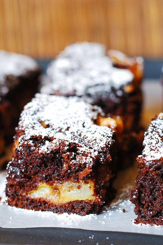 """<p>If fruity desserts aren't your thing, chocolate-fy it.</p><p>Get the recipe from<span class=""""redactor-invisible-space""""> <a href=""""http://juliasalbum.com/2014/02/chocolate-pear-cake/"""" rel=""""nofollow noopener"""" target=""""_blank"""" data-ylk=""""slk:Julia's Album"""" class=""""link rapid-noclick-resp"""">Julia's Album</a>.</span></p>"""