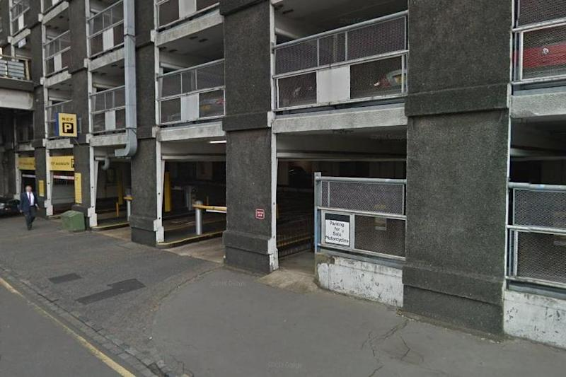 Stabbing: The boy was found seriously injured in a stairwell in Wandle Road car park: Google