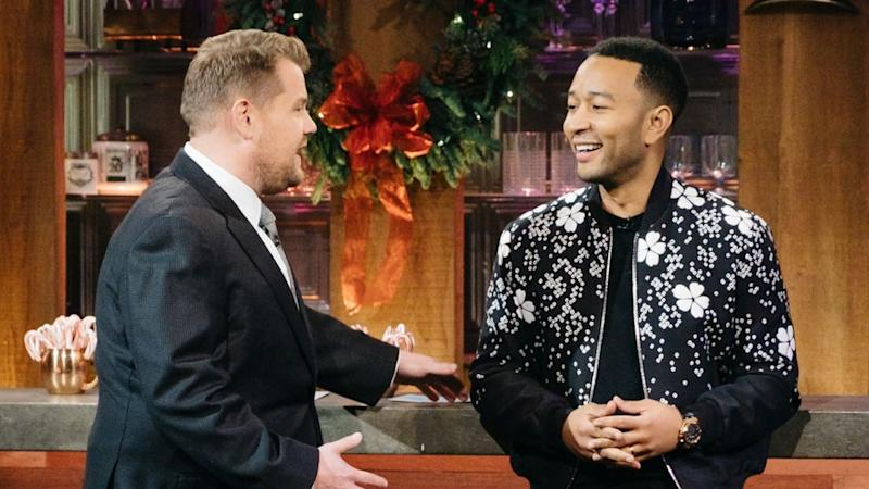 John Legend and James Corden's Songs of Summer Medley Will Make Your Day