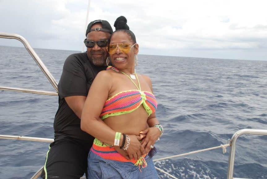 Nathaniel Edward Holmes (left) and Cynthia Ann Day (right) were found unresponsive in their room atBahía Príncipe La Romana on May 30. (Photo: Danker Holmes/Facebook)