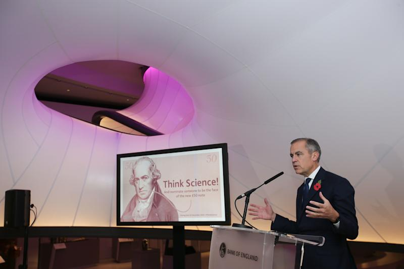 A British scientist will feature on the next £50 note