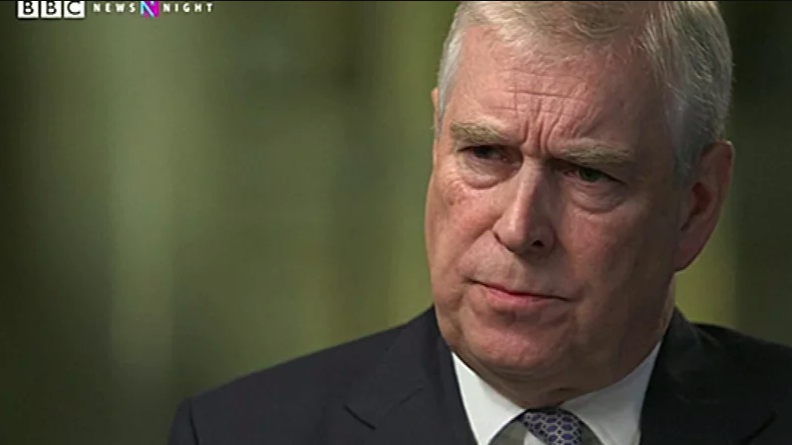 Prince Andrew's Newsnight interview has been heavily criticised (BBC)