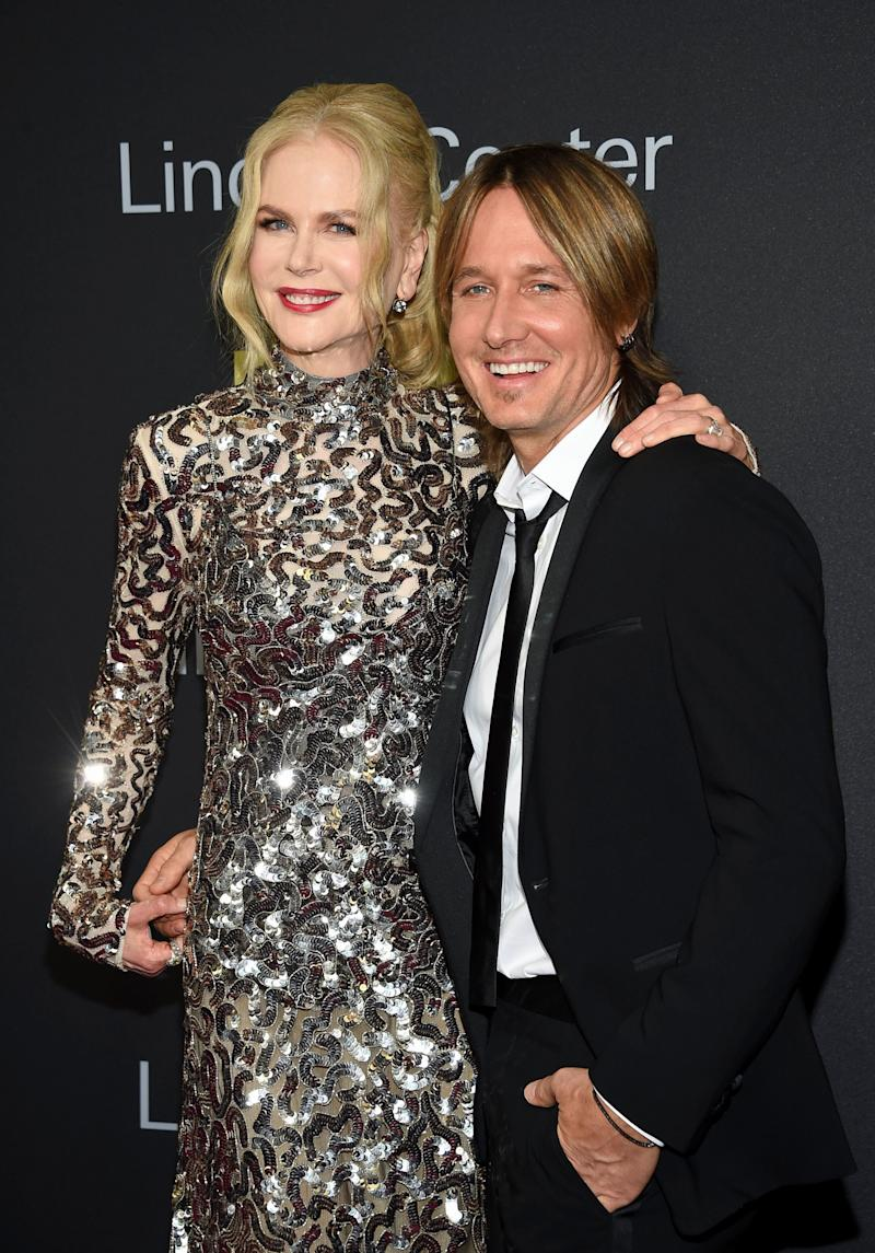 Nicole Kidman and Keith Urban pictured together. (Photo: Evan Agostini/Invision/AP)