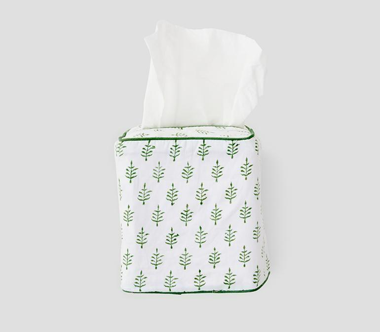 """<p><strong>Weezie Towels</strong></p><p>weezietowels.com</p><p><strong>$40.00</strong></p><p><a href=""""https://go.redirectingat.com?id=74968X1596630&url=https%3A%2F%2Fweezietowels.com%2Fproducts%2Ftissue-box-cover&sref=https%3A%2F%2Fwww.goodhousekeeping.com%2Fhome%2Fdecorating-ideas%2Fg37159808%2Fbest-home-products-july-2021%2F"""" rel=""""nofollow noopener"""" target=""""_blank"""" data-ylk=""""slk:Shop Now"""" class=""""link rapid-noclick-resp"""">Shop Now</a></p><p>Don't settle for the standard store-bought tissue box. To give yours an upgrade, try this green leaf patterned design.</p>"""