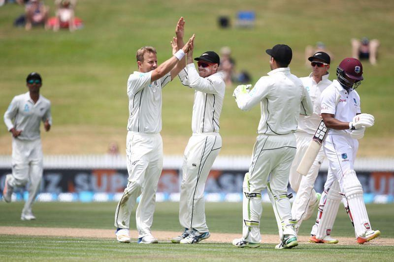 New Zealand start as the favorites to win the first ICC World Test Championship match against West Indies at Seddon Park in Hamilton