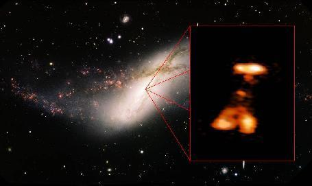 Monster Black Hole Burp Surprises Scientists