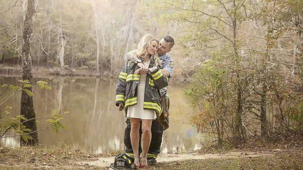 PHOTO: Kyle Parry, 35, a firefighter from Lumberton, Texas, and Stephanie Hoekstra, 33, were scheduled to marry on Sept. 10, but canceled their wedding amidst the devastation of Hurricane Harvey.  (Stephanie Hoekstra )