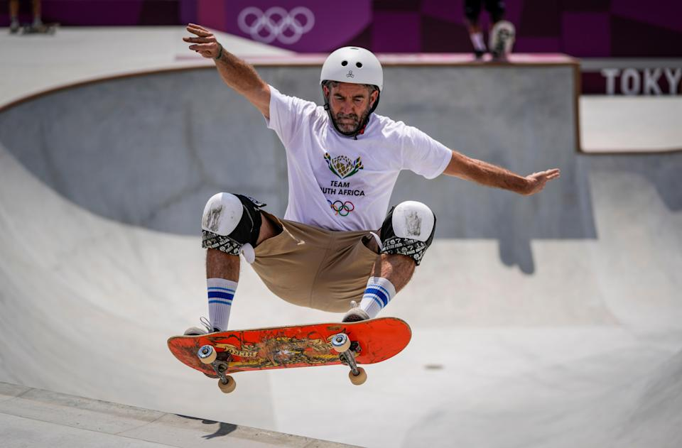 Tokyo Olympics Skateboarding African Wheels (Copyright 2021 The Associated Press. All rights reserved)