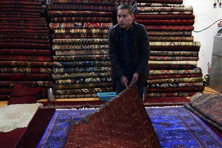 Chari Allahqul began carpet hunting as a child and was once clubbed with a Kalashnikov by bandits