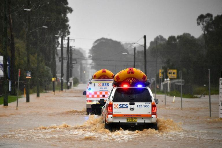 Emergency services reported receiving more than 1,000 calls for help and carrying out about 100 flood rescues overnight Saturday into Sunday