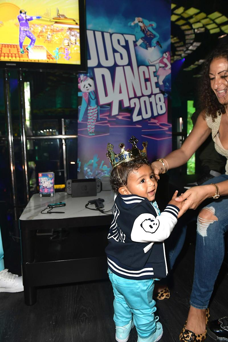 Asahd Khaled and Mom Nicole Tuck Celebrate His 1st Birthday in Miami