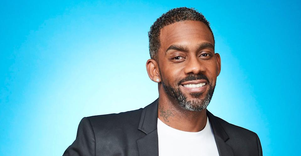 Richard Blackwood was offered condolences by his famous friends (ITV Pictures)