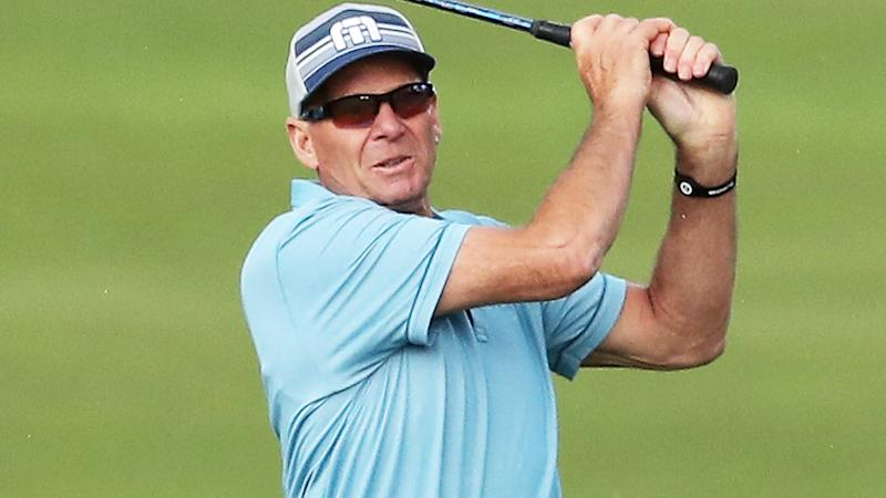 Sam Newman, pictured here at the World Cup of Golf in 2016.