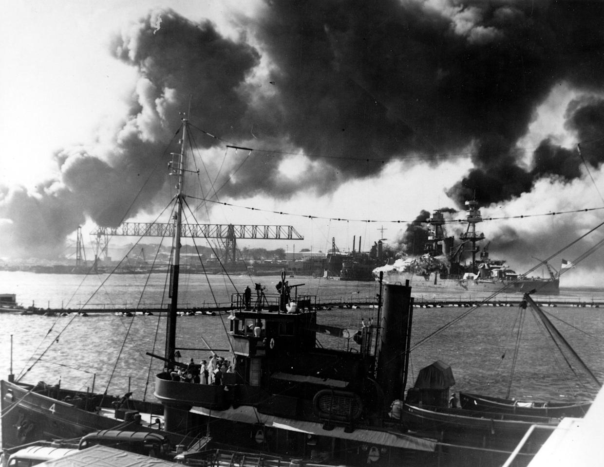 a history of the surprise attack on pearl harbor Browse the latest pearl harbor videos and more on historycom on december 7, 1941, japan launches a surprise attack on american soil at pearl harbor.