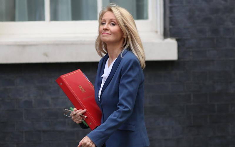 Work and Pensions Secretary Esther McVey says that specialist teams work around the world to recover fraudulently obtained taxpayer money  - Reuters