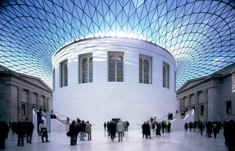 The British Museum runs excellent children's craft workshops from the great hall at half-term
