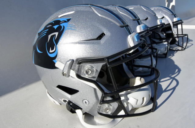 "After ""insensitive and racist"" comments from the CEO, the Panthers cut ties with a local security firm on Saturday night. (Grant Halverson/Getty Images)"