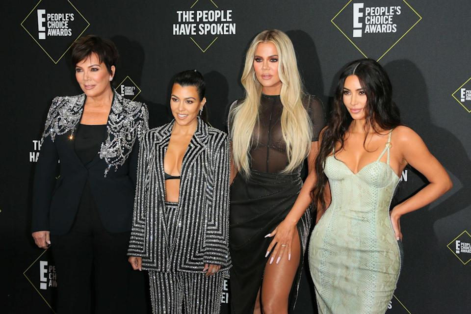 The Kardashian family (AFP via Getty Images)
