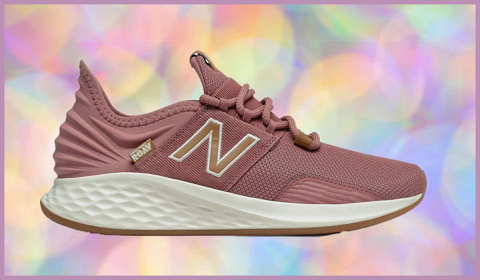Take 25 percent off your order — and snack a pair of stylish kicks, like these. (Photo: New Balance)