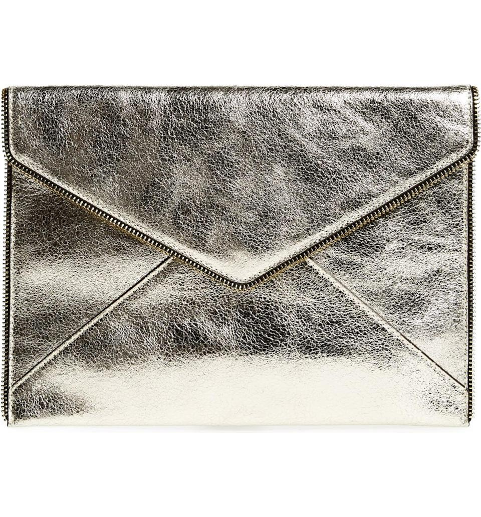 <p>This <span>Rebecca Minkoff Leo Leather 13-Inch Laptop Case</span> ($95) is so sleek; we love how it looks like a cross between an enlarged envelope and a sophisticated briefcase.</p>