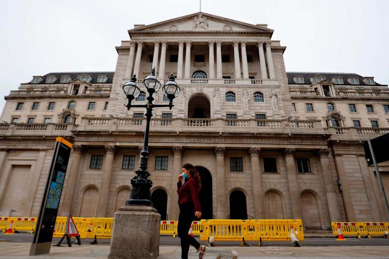 The Bank of England was holding the ingots on behalf of Venezuela (AFP via Getty Images)
