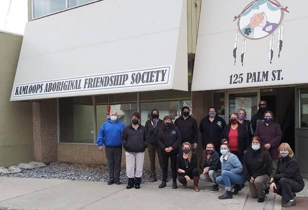 The Kamloops Aboriginal Friendship Society organized a fundraiser to build a new centre. (Kamloops Aboriginal Friendship Society - image credit)