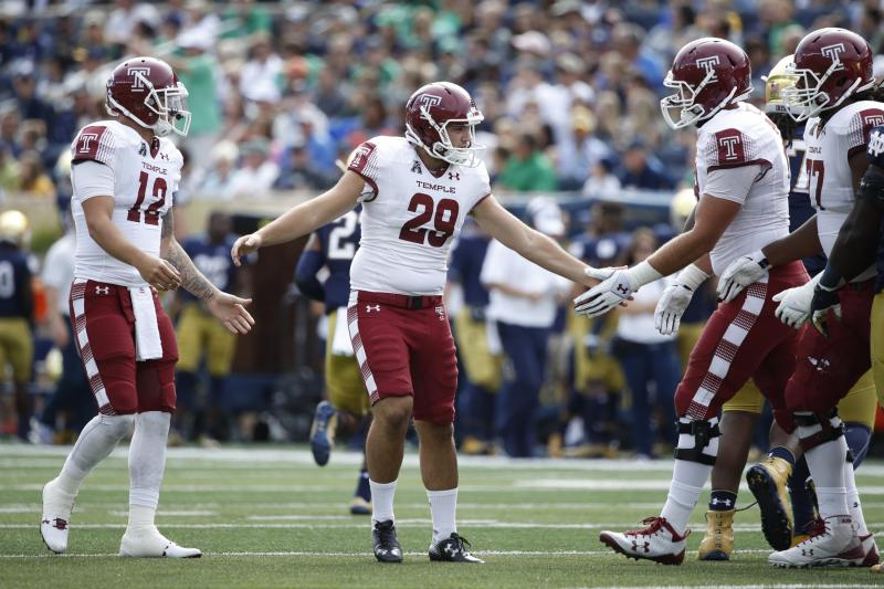 Alabama getting graduate kicker from Temple