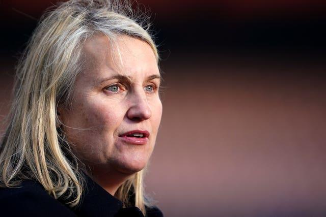 Emma Hayes says she and the club strive to provide a safe space for their players and staff