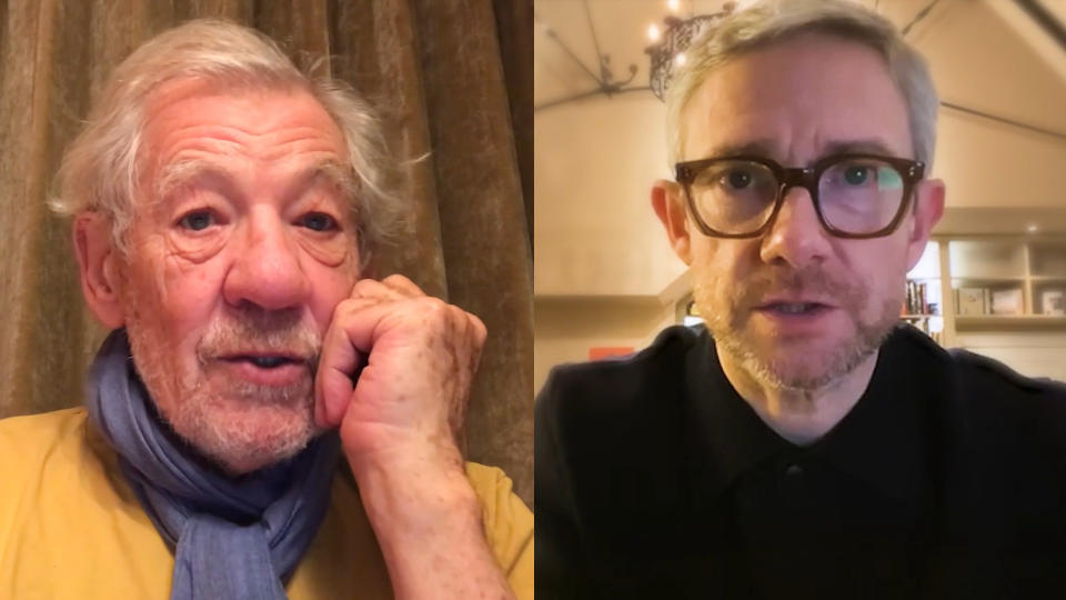 Ian McKellen and Martin Freeman joined fellow 'Lord of the Rings' and 'The Hobbit' stars in supporting the campaign to buy JRR Tolkien's home. (Credit: Project Northmoor)