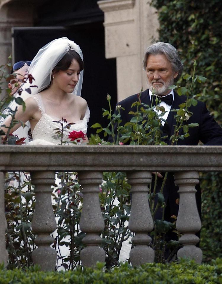 "September 24, 2007: Kris Kristofferson on the set of ""He is Just Not Into You"" which is currently filming in Los Angeles, Califoronia.