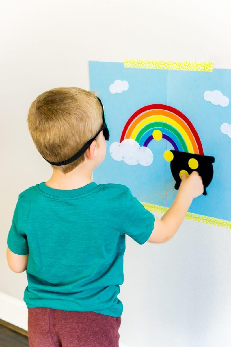 """<p>There are two games you can play with this DIY felt rainbow game board, one that's a festive St. Patrick's Day take on Pin the Tail on the Donkey!</p><p><strong>Get the tutorial at <a href=""""https://www.playpartyplan.com/diy-st-patricks-day-pot-of-gold-games/"""" rel=""""nofollow noopener"""" target=""""_blank"""" data-ylk=""""slk:Play Party Plan"""" class=""""link rapid-noclick-resp"""">Play Party Plan</a>.</strong></p><p><strong><strong><a class=""""link rapid-noclick-resp"""" href=""""https://www.amazon.com/Cobiz-Premium-Sticks-Christmas-Decoration/dp/B0721PTD5B/?tag=syn-yahoo-20&ascsubtag=%5Bartid%7C10050.g.26234489%5Bsrc%7Cyahoo-us"""" rel=""""nofollow noopener"""" target=""""_blank"""" data-ylk=""""slk:SHOP HOT GLUE GUNS"""">SHOP HOT GLUE GUNS</a></strong><br></strong></p>"""
