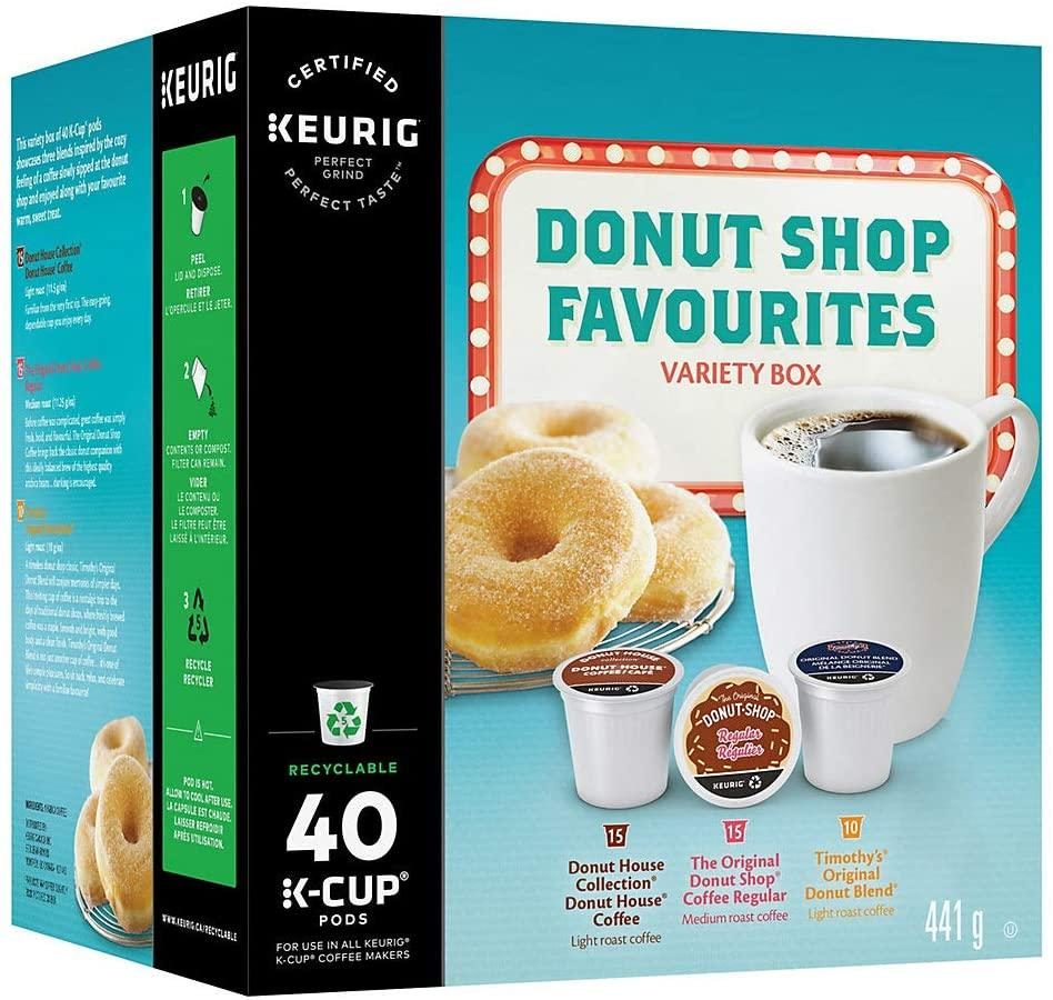 Donut Shop Variety Box Keurig K-Cup Pods