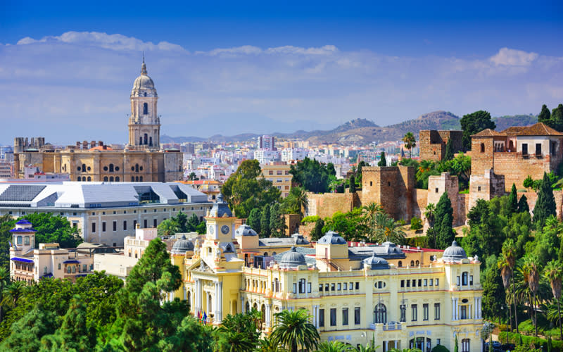 <p>There's no hiding from Malaga's tainted image driven by pint-chugging tourists in recent years. But the Spanish resort Mecca continues to draw Brits to the Costa Del Sol whether we like to admit it or not. <em>[Photo: Getty]</em> </p>