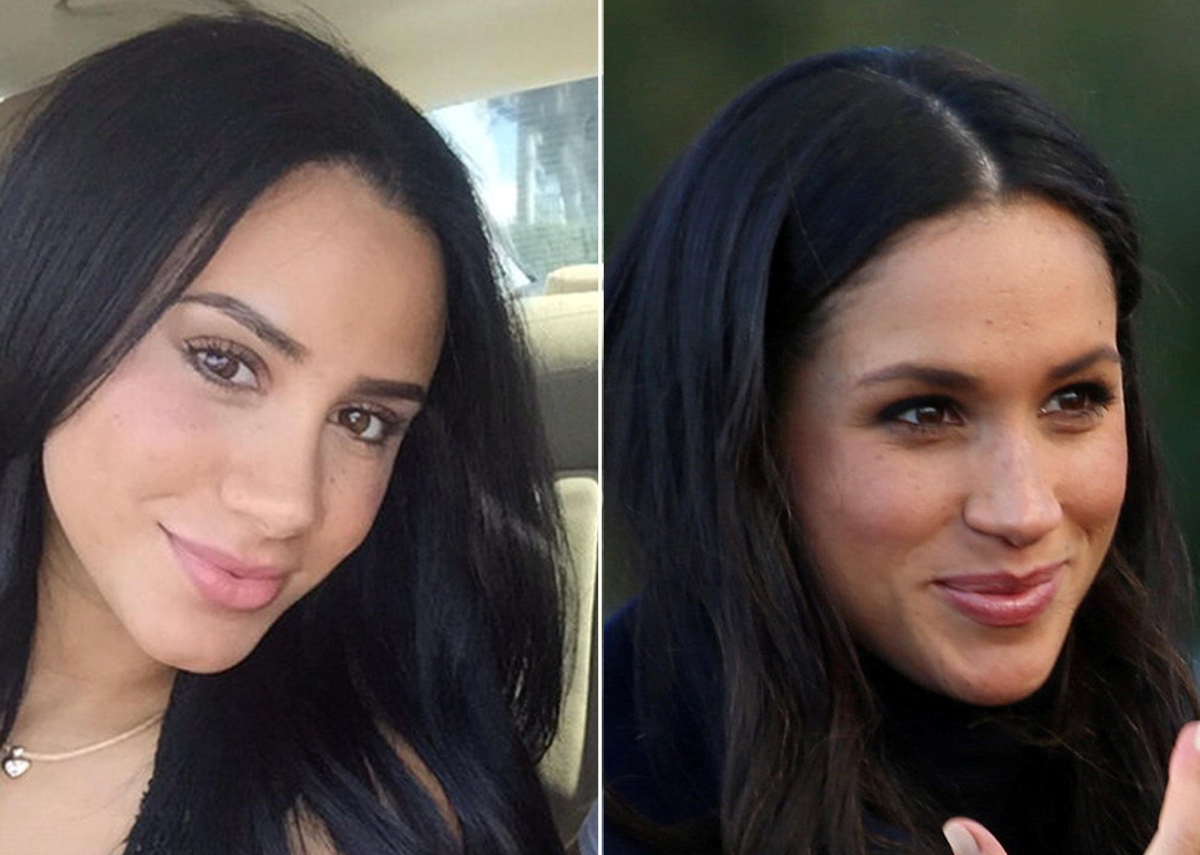 A Meghan Markle lookalike exists. (Photo: SWNS)