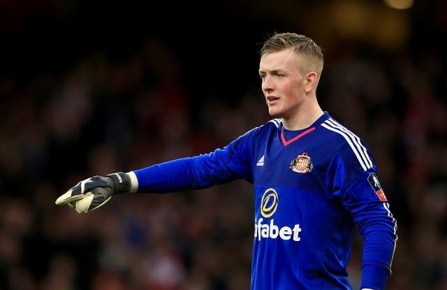 Jordan Pickford progressed trough the Academy ranks to the first team at Sunderland