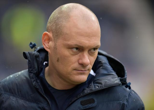 """Soccer Football - Championship - Preston North End vs Fulham - Deepdale, Preston, Britain - March 10, 2018 Preston North End manager Alex Neil Action Images/Paul Burrows EDITORIAL USE ONLY. No use with unauthorized audio, video, data, fixture lists, club/league logos or """"live"""" services. Online in-match use limited to 75 images, no video emulation. No use in betting, games or single club/league/player publications. Please contact your account representative for further details."""