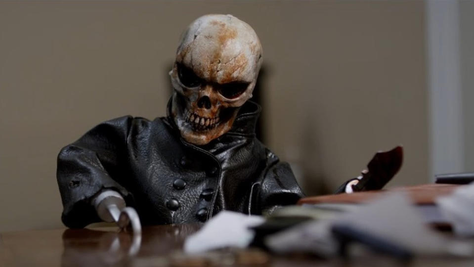 The 12th film in a franchise that has been running for 30 years, <em>The Littlest Reich</em> casts puppeteer Andre Toulon as a Nazi war criminal with an array of nasty little creations. <em>Dragged Across Concrete</em> director S. Craig Zahler is on script duties and tells the story with a devilish sense of humour. (Credit: Exploitation Films)