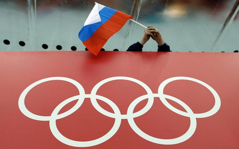 Russia faces being excluded from the Tokyo Olympics - AP FILES