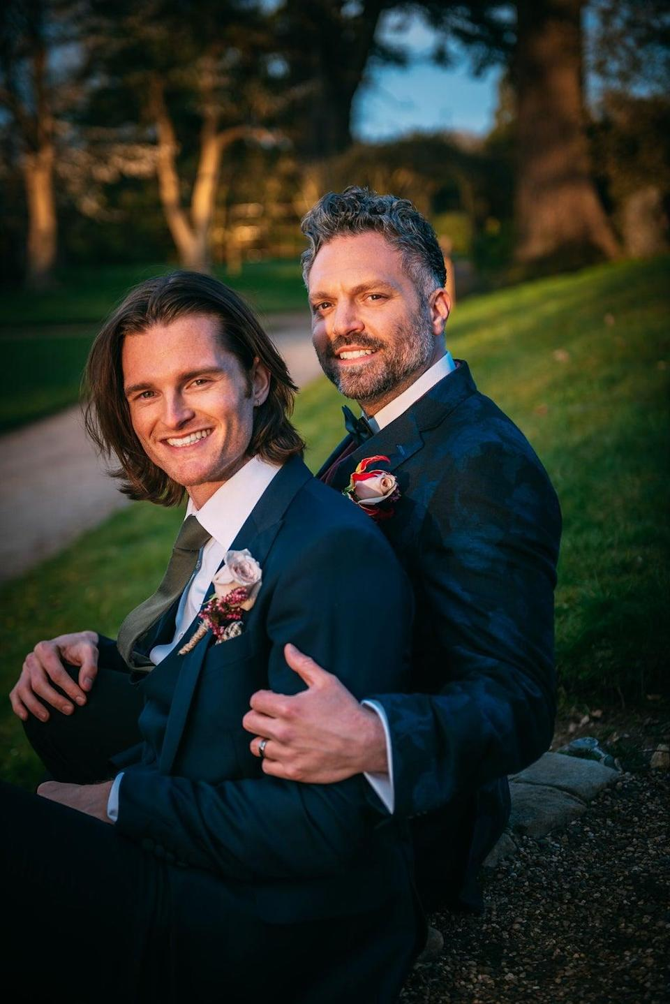 Daniel and Matt are the show's first gay couple (Channel 4)