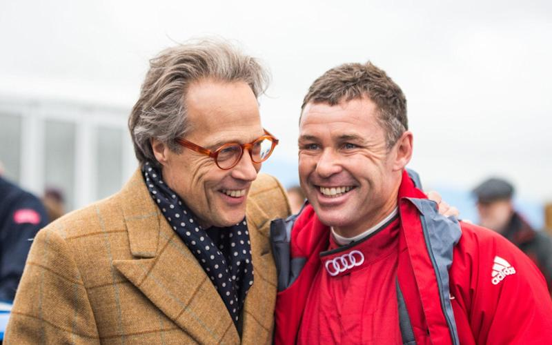 Festival of Speed host Lord March with 'Mr Le Mans' Tom Kristensen - Jayson Fong - Form & Function Int'l 2017