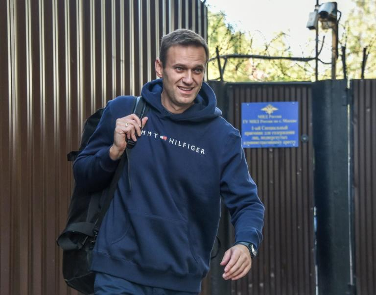 Navalny was arrested in Moscow on July 24 as he left his home to go jogging and buy flowers for his wife's birthday