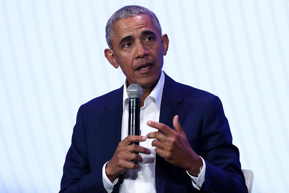 Barack Obama Attends The First National Gathering Of The MBK Rising Brother Alliance!  in Auckland