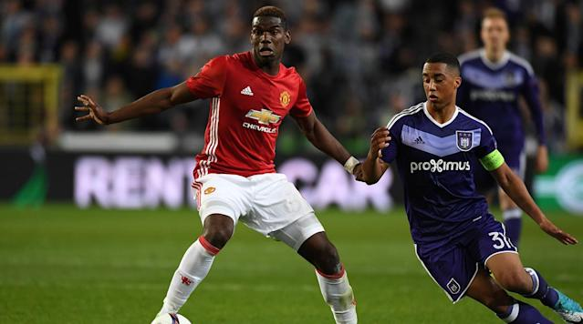 Manchester United will host Anderlecht in the second leg of a Europa League tie on Thursday.