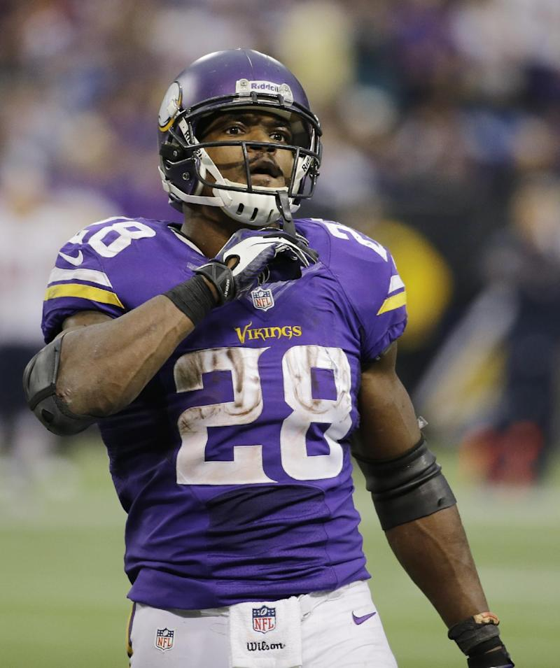 Vikings' Peterson has surgery on groin
