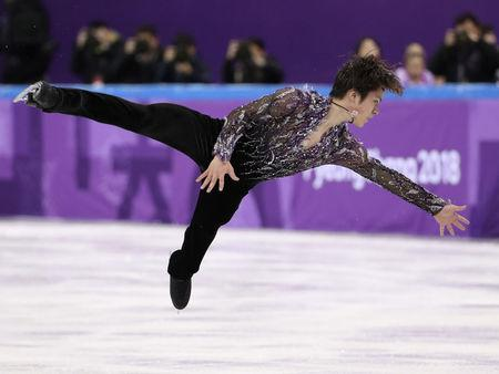 Figure Skating – Pyeongchang 2018 Winter Olympics – Team Event Men Single Skating short program – Gangneung Ice Arena - Gangneung, South Korea – February 9, 2018 - Shoma Uno of Japan in action. REUTERS/Lucy Nicholson